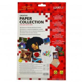 Logo, magnetický papír, PRO, bílý, A4, 871 g/m2, 1440dpi, 2 listy, pro inkoustové tiskárny, L