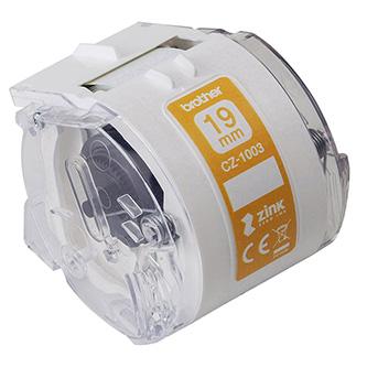 Brother papírová páska 19mm x 5m, bílá, CZ1003, pro tiskárnu VC-500W