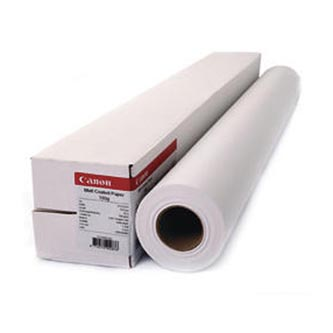 """Canon 610/30/Matt Coated Paper, matný, 24"""", 7215A006, 180 g/m2, grafický papír, 610mmx30m, bílý, pro inkoustové tiskárny, role"""