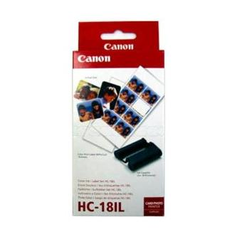 Canon Papír pro termosublimační tiskárny CD-300, bílá, 18, ks HC18IP, pro termosublimační tiskárny