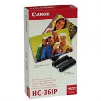 Canon Papír pro termosublimační tiskárny CP-10, bílá, 36, ks HC36IP, pro termosublimační tiskárny