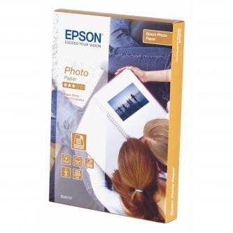 """Epson Photo Paper, foto papír, lesklý, bílý, Stylus Color, Photo, Pro, 10x15cm, 4x6"""", 194 g/m2, 70 ks, C13S042157, inkoustový"""