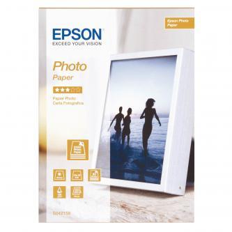 """Epson Photo Paper, foto papír, lesklý, bílý, Stylus Color, Photo, Pro, 13x18cm, 5x7"""", 194 g/m2, 50 ks, C13S042158, inkoustový"""