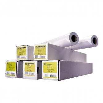 """HP 594/45.7/Bright White Inkjet Paper, matný, 23"""", Q1445A, 90 g/m2, univerzální papír, 594mmx45.7m, bílý, pro inkoustové tiskárny,"""