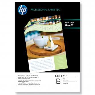 HP Superior Inkjet Paper, bílá, 100, ks oboustranný tisk, Q6592A, pro inkoustové tiskárny, 210x297mm (A4), A4, 180 g/m2