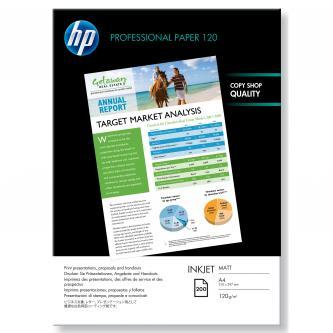 HP Professional Inkjet Paper, bílá, 200, ks Q6593A, pro inkoustové tiskárny, 210x297mm (A4), A4, 120 g/m2