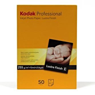 Kodak Professional Inkjet Photo Paper Lustre, saténový, papír, bílý, A4, 255 g/m2, KPROA4L, inkoustový
