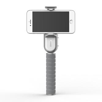 Gimbal, pro smartphony, jednoosý (360°), šedý, 2600mAh, gyroskopický držák, WEWOW