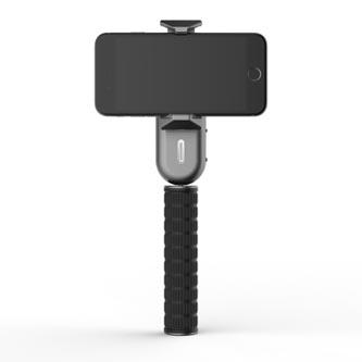 Gimbal, pro smartphony, jednoosý (360°), černý, 2600mAh, gyroskopický držák, WEWOW