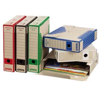 Box archivační, A4, 75mm, černý, Emba