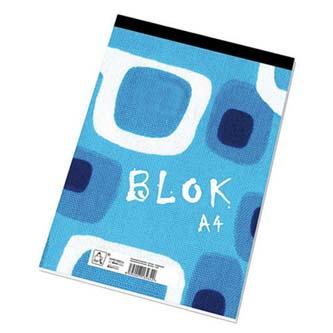 Blok čistý, A4, 50listů,poznámkový