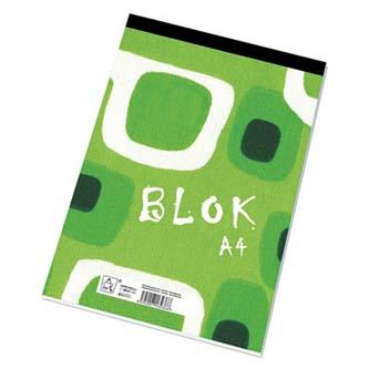 Blok čtverečkovaný, A4, 50listů,poznámkový