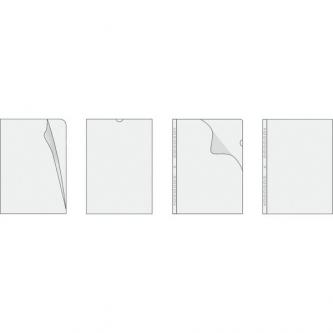 Euroobal U, A4, 105mic, transparentní, Herlitz, 100ks
