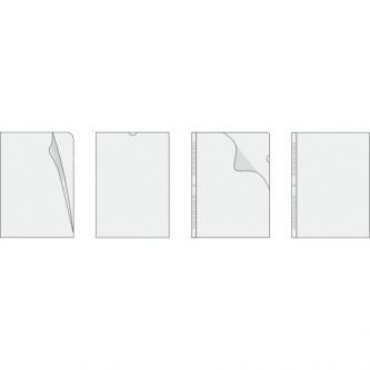 Euroobal U, A4, 80mic, transparentní, Herlitz, 100ks