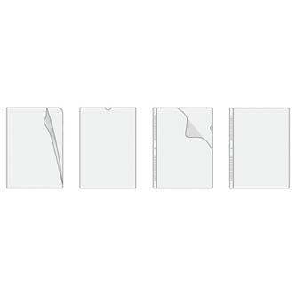 Euroobal U, A5, 42mic, transparentní, Herlitz, 100ks