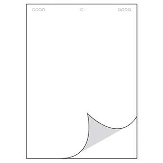 Blok na flipchart čistý, 68 x 95cm, 25 listů