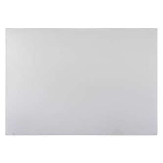 Obal na doklady L, A4, 180mic, transparentní, PVC, 25ks