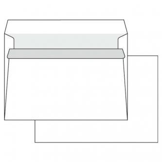 Obálka samolepicí, C5, 162 x 229mm, bílá, Krpa, poštovní, 1000ks