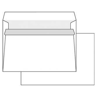 Obálka samolepicí, C5, 162 x 229mm, bílá, Krpa, poštovní, 50ks