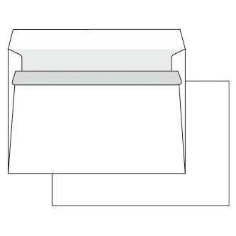 Obálka samolepicí, C6, 114 x 162mm, bílá, Krpa, poštovní, 1000ks