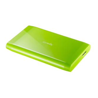 """Apacer externí pevný disk, AC235, 2.5"""", USB 3.0, 500GB, AP500GAC235G-1, zelený, LED indikátor rychlosti přenosu"""