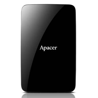 """Apacer externí pevný disk, AC233, 2.5"""", USB 3.1, 500GB, AP500GAC233B-S, černý"""