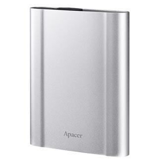 "Apacer externí pevný disk, AC730, 2.5"", USB 3.1, 1TB, AP1TBAC730S-1, stříbrný"