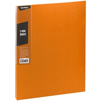 Pořadač 2-kroužkový, A4, 35mm, 600mic, oranžový, Berlingo, Color Zone, 14ks