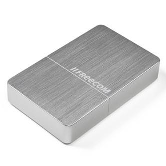"Freecom externí pevný disk, mHDD Desktop Drive, 3.5"", USB 3.0, 10TB, 56403, stříbrný"