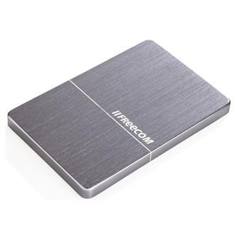 """Freecom externí pevný disk, Slim Mobile Drive Metal, 2.5"""", USB 3.0, 1TB, 1000GB, 56369, šedý"""