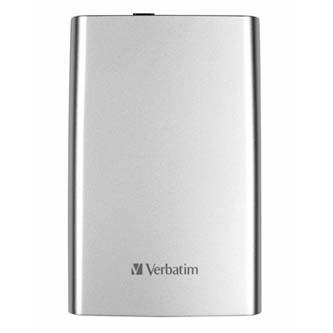 "Verbatim externí pevný disk, Store,n,Go, 2.5"", USB 3.0, 1TB, 1000GB, 53071, stříbrný"