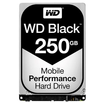 "Western Digital interní pevný disk, WD Black, 2.5"", SATA III, 0.25TB, 250GB, WD2500LPLX"