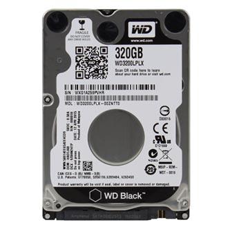 "Western Digital interní pevný disk, WD Black, 2.5"", SATA III, 320GB, WD3200LPLX"
