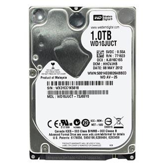 "Western Digital interní pevný disk, WD SCORPIO AV-25, 2.5"", SATA II, 1TB, 1000GB, WD10JUCT"