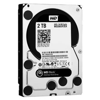 """Western Digital interní pevný disk, WD Black, 3.5"""", SATA III/SATA II, 2TB, 2000GB, WD2003FZEX"""