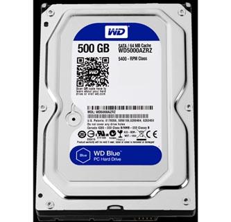 "Western Digital interní pevný disk, WD Blue, 3.5"", SATA III, 0,5TB, 500GB, WD5000AZRZ"