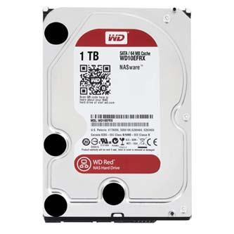 "HDD pro NAS zařízení, Western Digital, 3.5"", 1000GB, 1TB, Red Raid Editon, SATA III, 5400, WD10EFRX, černá, IntelliPower"