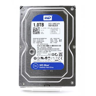 "Western Digital interní pevný disk, WD Blue, 3.5"", SATA III, 1TB, 1000GB, WD10EZEX"