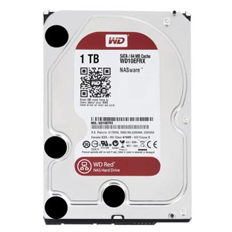 "Pevný disk NAS, Western Digital, 3.5"", 1000GB, 1TB, WD Red, SATA III/SATA II, 5400, WD10EFRX"