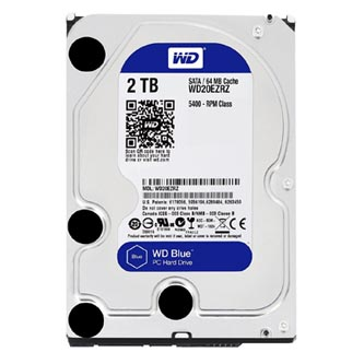 "Western Digital interní pevný disk, WD Blue, 3.5"", SATA III, 2TB, 2000GB, WD20EZRZ"