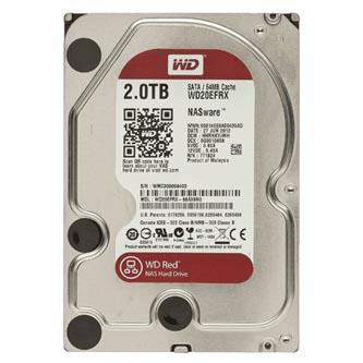 "Pevný disk NAS, Western Digital, 3.5"", 2000GB, 2TB, WD Red, SATA III/SATA II, 5400, WD20EFRX"