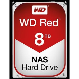 "Pevný disk NAS, Western Digital, 3.5"", 8000GB, 8TB, WD Red, SATA III, 5400, WD80EFZX"