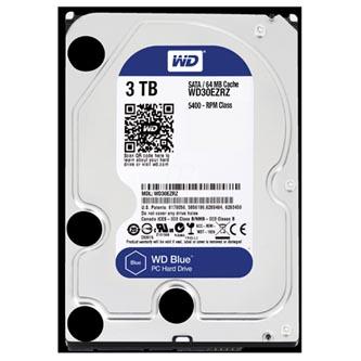"Western Digital interní pevný disk, WD Blue, 3.5"", SATA III, 3TB, 3000GB, WD30EZRZ"