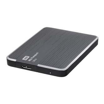 "Western Digital externí pevný disk, My Passport ULTRA, 2.5"", USB 3.0/USB 2.0, 500GB, WDBPGC5000ATT-EESN, šedý"