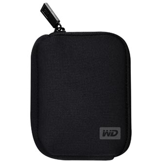 "Ochranný obal pro externí HDD 2,5"", Western Digital, 2.5"", WDBABK0000NBK-ERSN"