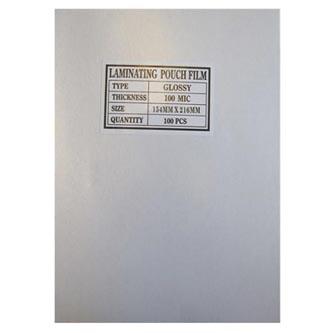 Fólie laminovací, A4, 100mic, antistatická, lesklá, 100ks