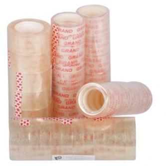 Lepicí páska transparentní, 18 mm x  10 m, 8ks
