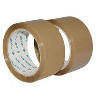 Lepicí páska havana, hnědá, 48 mm x  66 m, 6ks, cena za 1ks