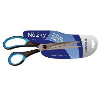 Nůžky 210mm, pogumovaná madla