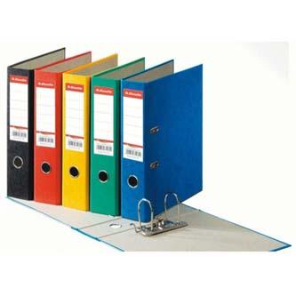 Pořadač pákový, A4, 50mm, modrý, Esselte, prešpanový potah, cena za 1ks, 5ks
